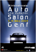 Salon international de l'Automobile Genéve 2004